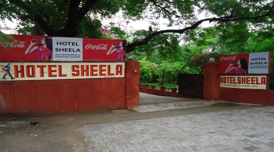 Lobby of HOTEL SHEELA AGRA Hotel Agra - Budget Hotels in Agra