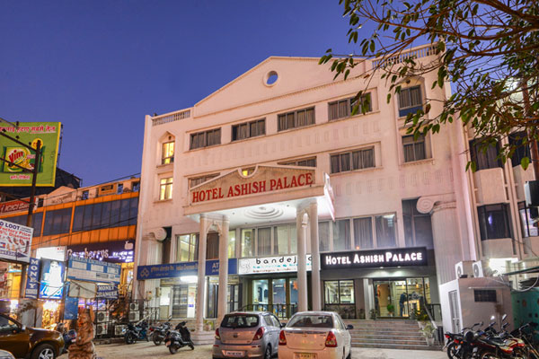 Large Photograph of Hotel Ashish Palace-agra located in Agra