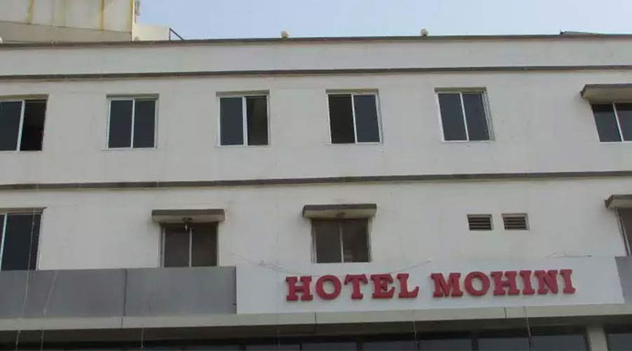 Large Photograph Of Hotel Mohini Ahmedabad Located In