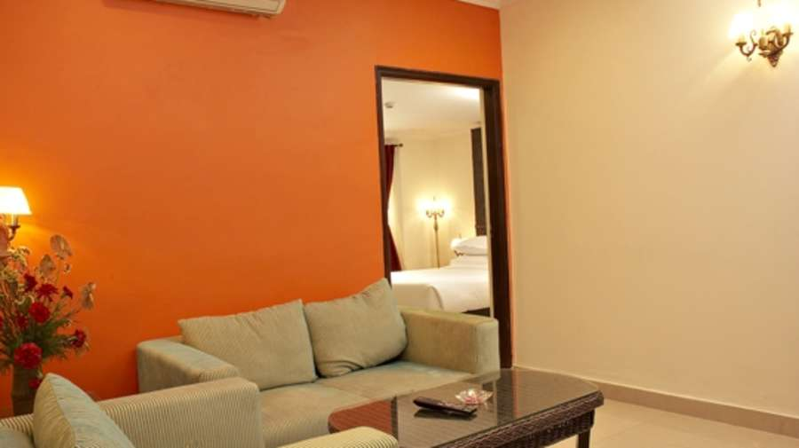 Lobby of Shilton Royale Hotel Bangalore (business Hotel) Hotel Bangalore - Budget Hotels in Bangalore