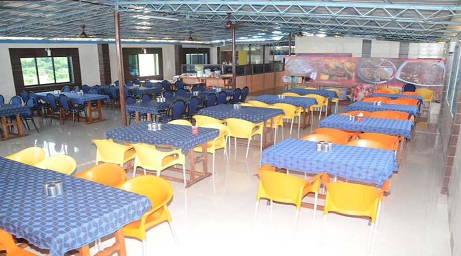 Lobby of HOTEL KRISHNA SEA VIEW GANPATIPULE Hotel Ganapatipule - Budget Hotels in Ganapatipule