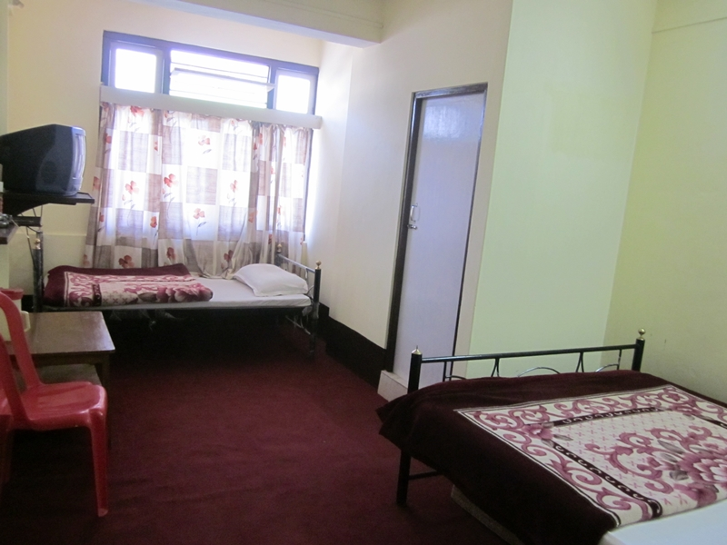 Large Photograph Of Hotel Sernya Gangtok Located In