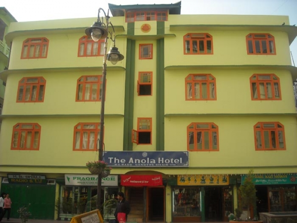 Large Photograph Of The Anola Hotel Gangtok Located In