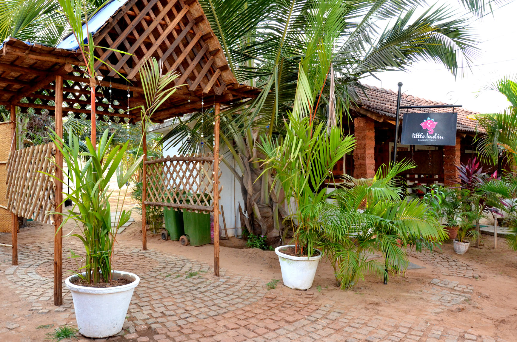 Large Photograph of LITTLE INDIA BEACH COTTAGE GOA located in Goa