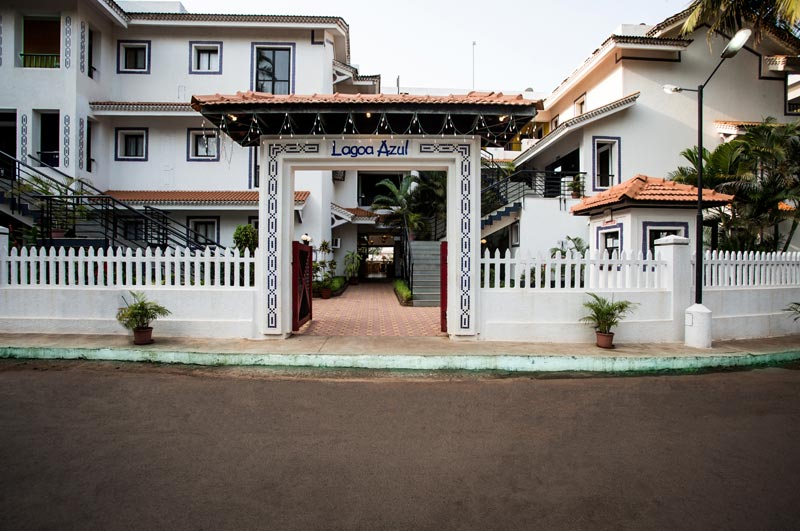 View of RESORT LAGOA AZUL GOA - Budget Hotels in Goa