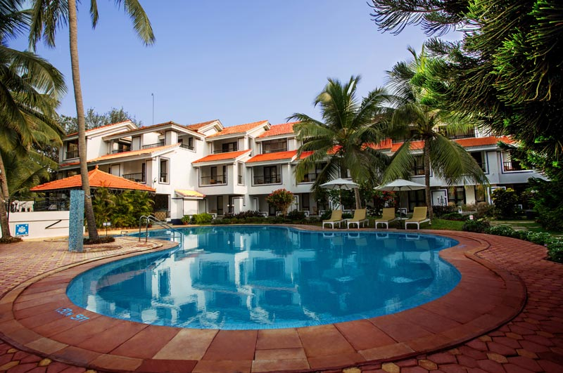 Lobby of RESORT LAGOA AZUL GOA Hotel Goa - Budget Hotels in Goa