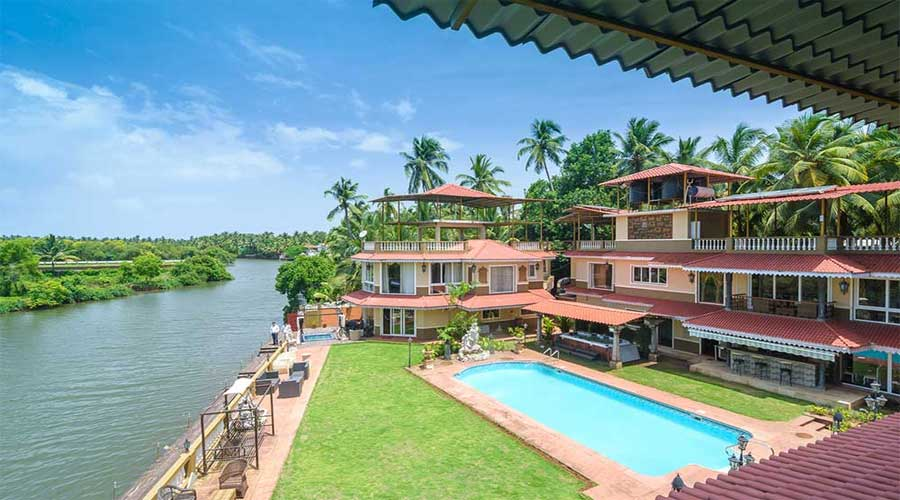 Large Photograph of THE RIVER PALACE BOUTIQUE RESORT GOA located in Goa