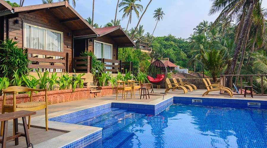 Large Photograph of ANTARES BEACH RESORT GOA located in Goa
