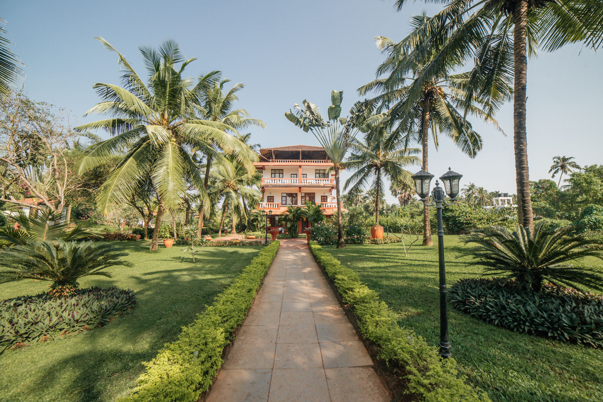Large Photograph of CHALSTON BEACH RESORT located in Goa