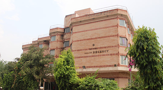 Large Photograph of HOTEL GWALIOR REGENCY located in Gwalior