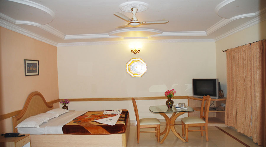 Lobby of KISHKINDA HERITAGE RESORT Hotel Hampi - Budget Hotels in Hampi