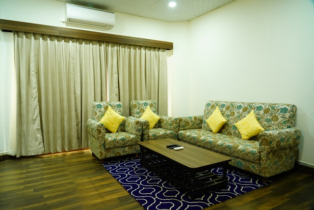 Lobby of HOTEL SARVESH, GANGAVATHI (ANEGUNDI) Hotel Hampi - Budget Hotels in Hampi