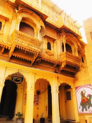 Large Photograph of THE DESERT HAVELI GUEST HOUSE located in Jaisalmer