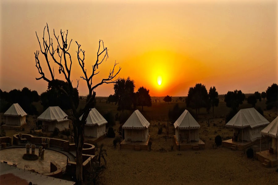 Large Photograph of Damodara Desert Camp located in Jaisalmer
