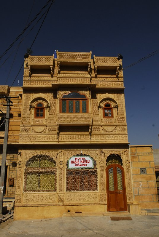 Large Photograph of Oasis Haveli Jaisalmer located in Jaisalmer