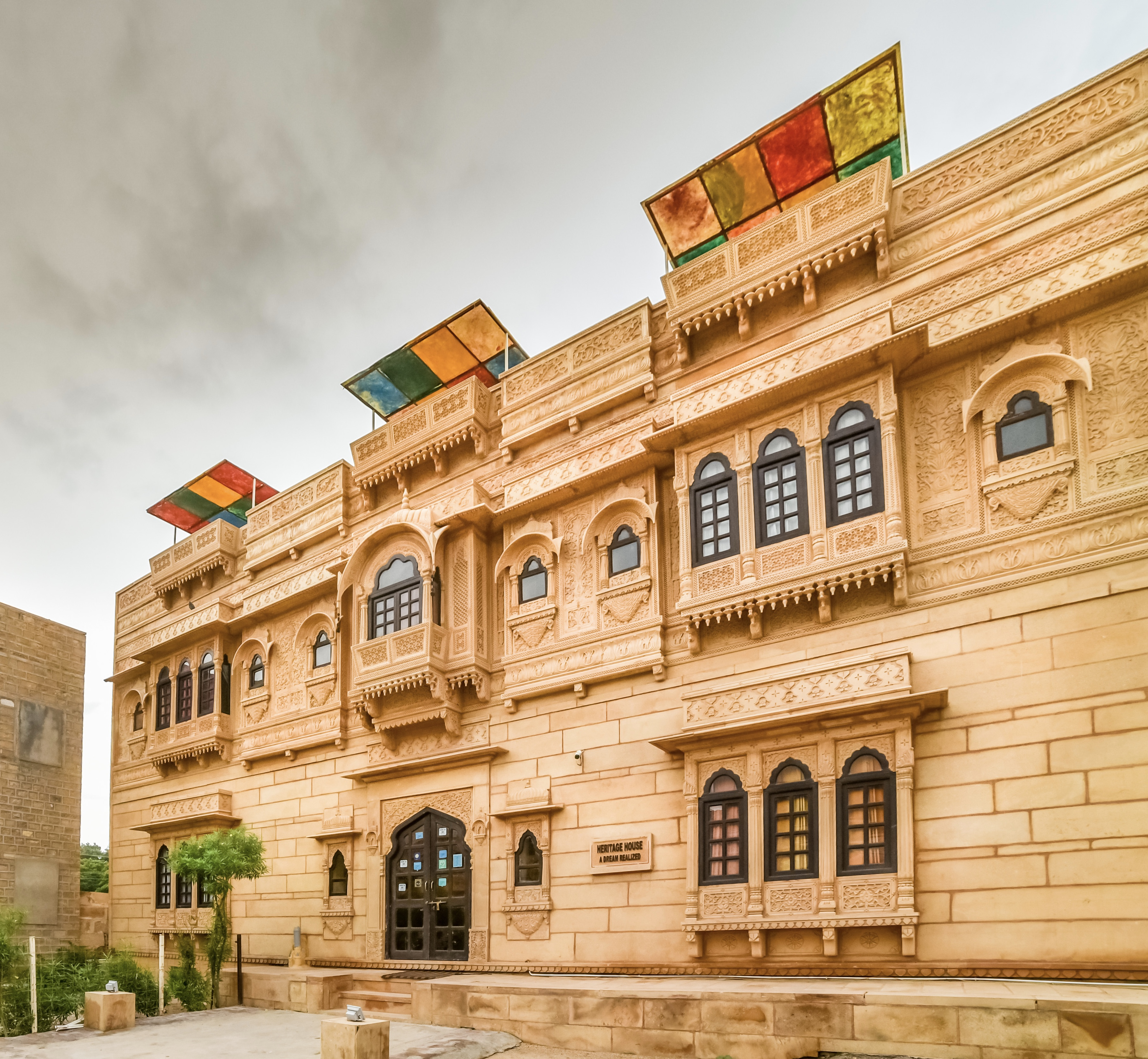 Large Photograph of HOTEL HERITAGE HOUSE JAISALMER located in Jaisalmer