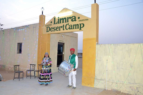 Large Photograph of Limra Desert Camp located in Jaisalmer
