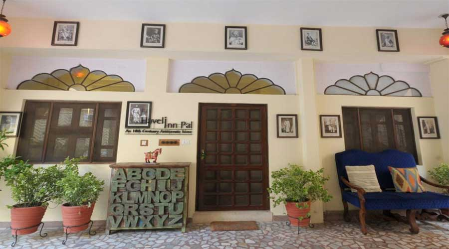 Large Photograph of Haveli Inn Pal, Jodhpur located in Jodhpur