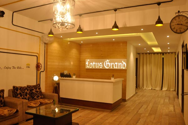 View of Hotel Lotus Grand Akm - Budget Hotels in Kalka