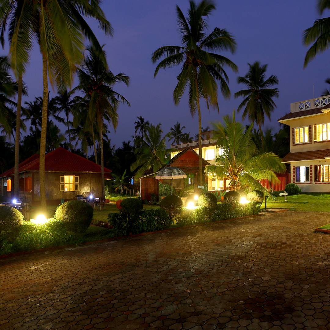 Large Photograph of ASOKAM BEACH RESORT located in Kannur