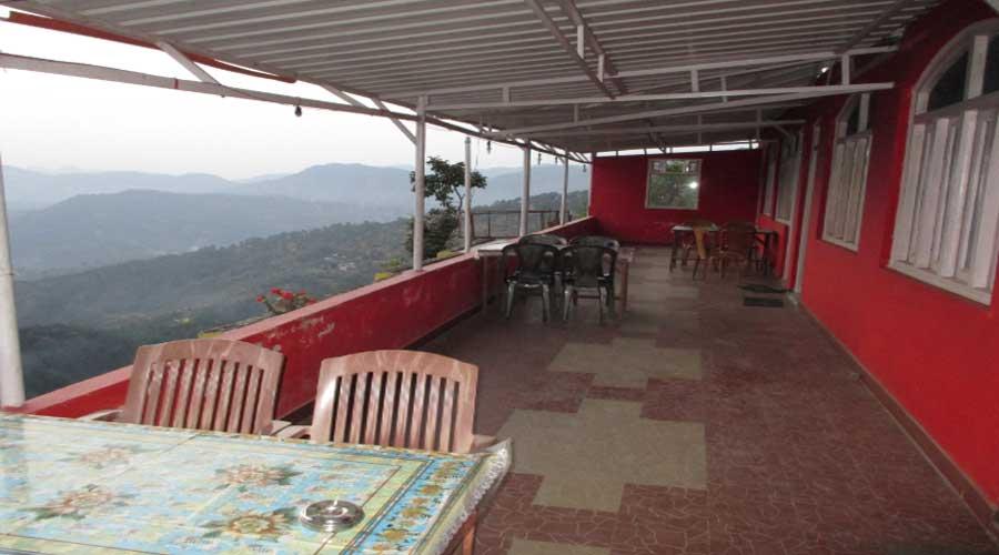 Lobby Of Hotel Sadbhavana Lansdowne Budget Hotels In