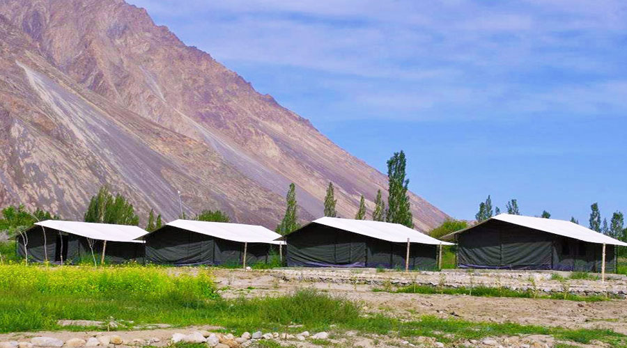 Large Photograph of COLD DESERT CAMP LEH LADAKH located in Leh