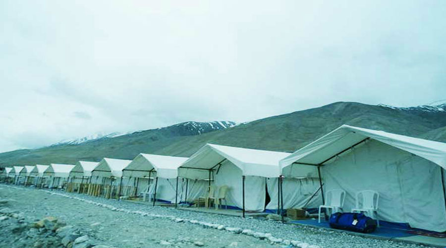 Large Photograph of CAMP BLUE WATERS LADAKH located in Ladakh