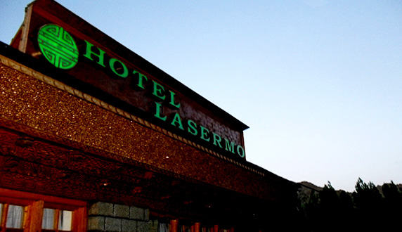 Large Photograph Of Hotel Lasermo Located In Leh Ladakh