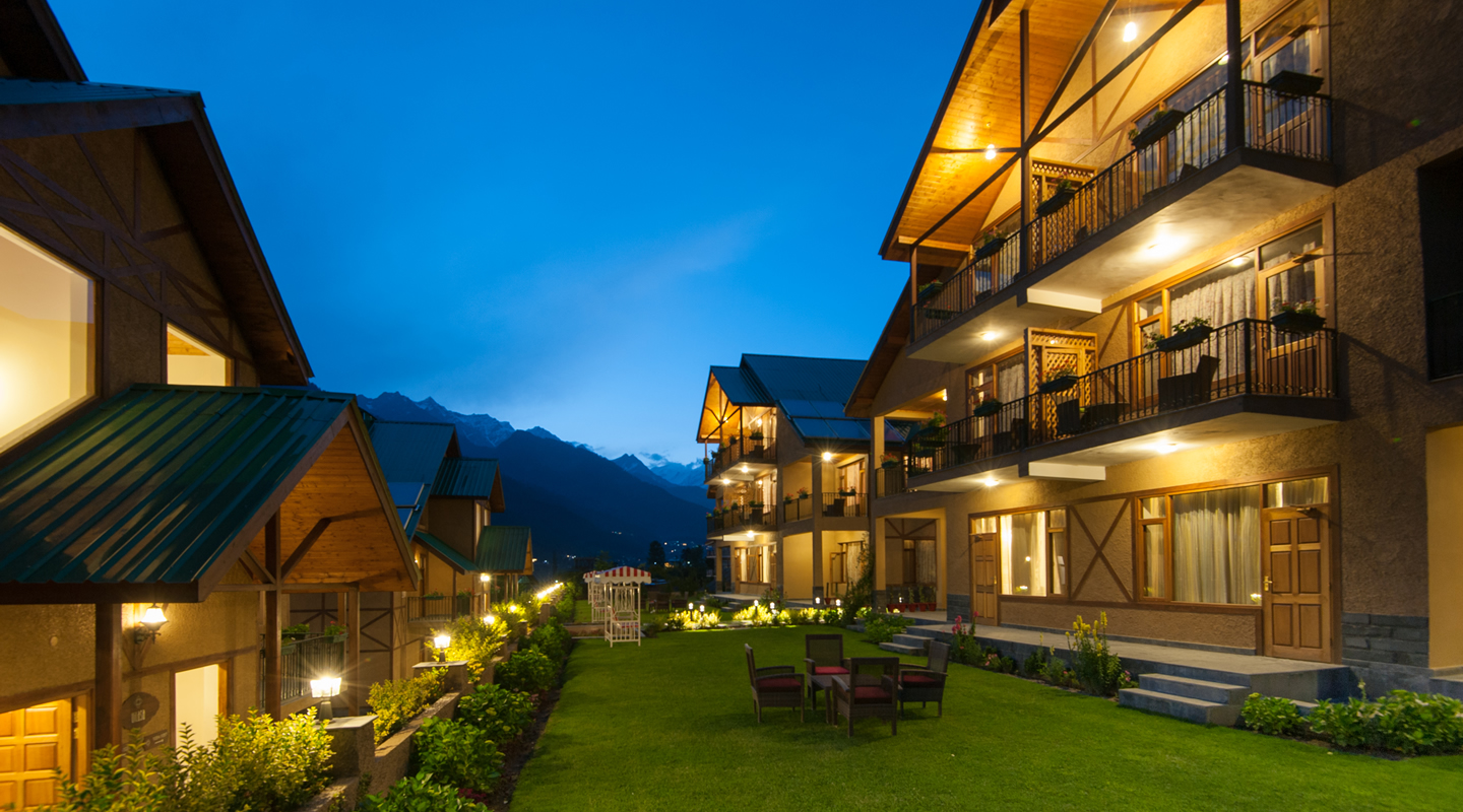 Large Photograph of Anant Maya Resorts Manali located in Manali