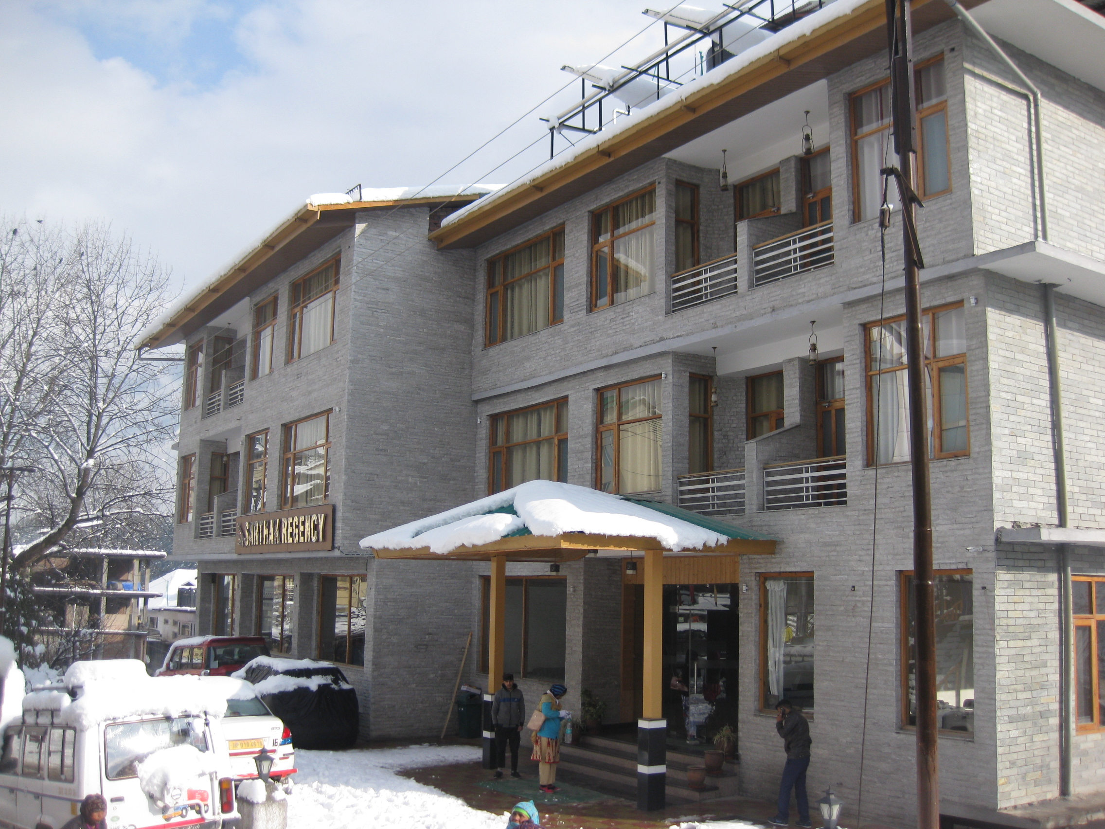 View of Sarthak Regency (A Centrally Heated And  Air Cooled) - Budget Hotels in Manali