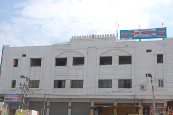 Large Photograph Of Sreeniketanam A Budget Lodge Located In Mantralayam
