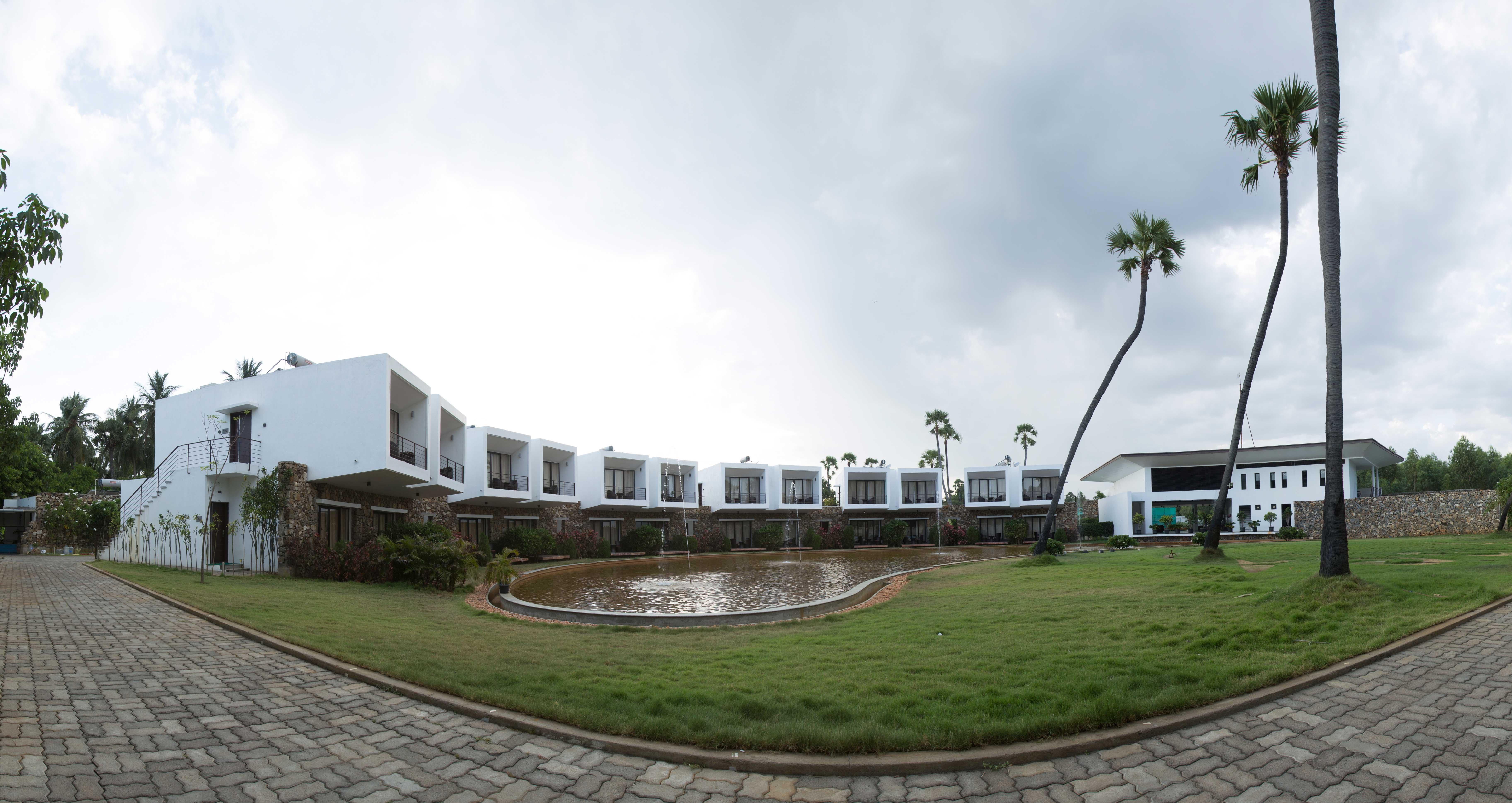 Large Photograph Of Anora Beach Resort Located In Mugaiyur