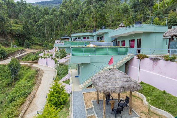 Large Photograph of Mountain Hut Resorts Munnar located in Munnar