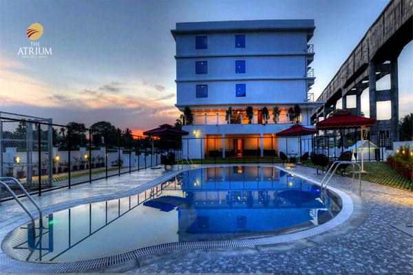 The Atrium Boutique Hotel 110 1a1 Near Columbia Asia Hospital Mysore Hotels Hotels In
