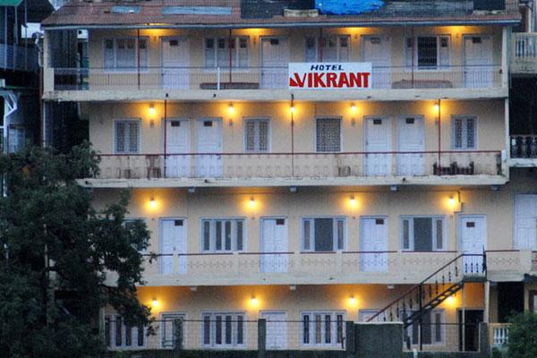 View of HOTEL VIKRANT NAINITAL - Budget Hotels in Nainital