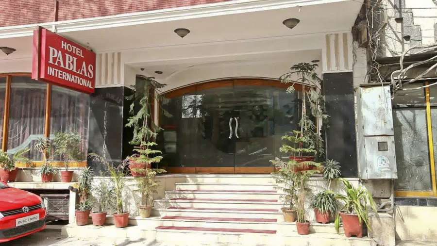 Lobby of HOTEL PABLAS INTERNATIONAL DELHI Hotel New Delhi - Budget Hotels in New Delhi