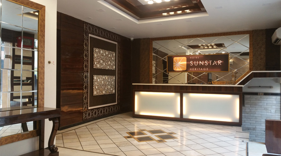 Large Photograph of HOTEL SUNSTAR HERITAGE located in New Delhi