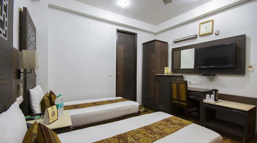 Lobby of HOTEL SUNSTAR HEIGHTS Hotel New Delhi - Budget Hotels in New Delhi