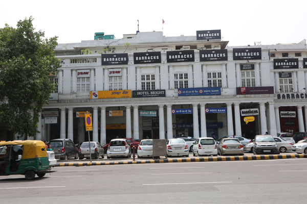 Large Photograph of Hotel Bright located in New Delhi