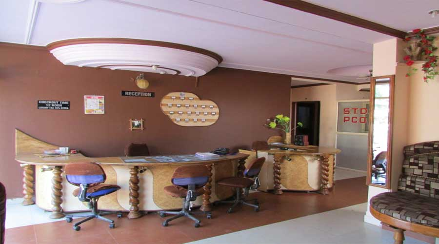 Lobby of HOTEL PARK VIEW PACHMARHI Hotel Pachmarhi - Budget Hotels in Pachmarhi