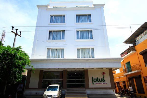 View of Lotus A Pondy Hotel - Budget Hotels in Puducherry
