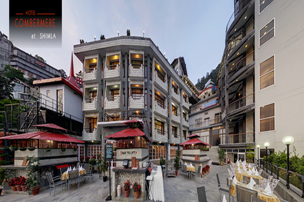 Large Photograph of HOTEL COMBERMERE located in Shimla