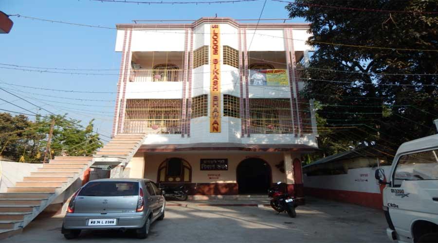 Lobby Of Lodge Bikash Bhawan Siliguri Hotel Budget Hotels In