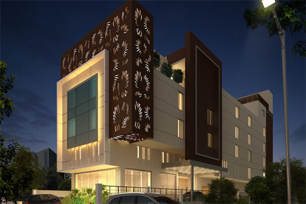 Large Photograph of HOTEL HIMALAYAA TIRUVANNAMALAI located in Tiruvannamalai