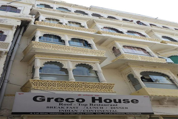 Large Photograph of GRECO HOUSE UDAIPUR located in Udaipur