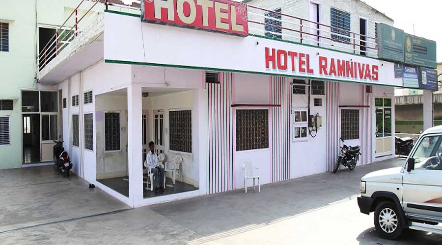 Large Photograph of RAM NIVAS HOTEL UDAIPUR located in Udaipur