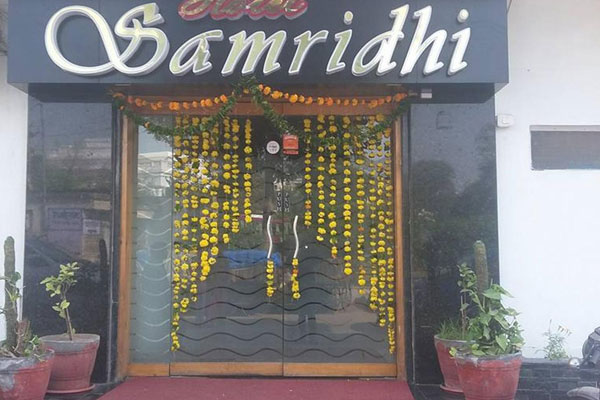 Large Photograph of HOTEL SAMRIDHI UDAIPUR located in Udaipur