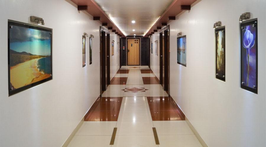 Lobby of HOTEL AMBASSADOR VADODARA Hotel Vadodara - Budget Hotels in Vadodara