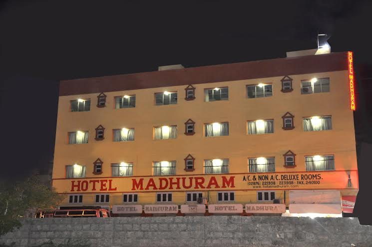 Large Photograph of Hotel Madhuram located in Veraval