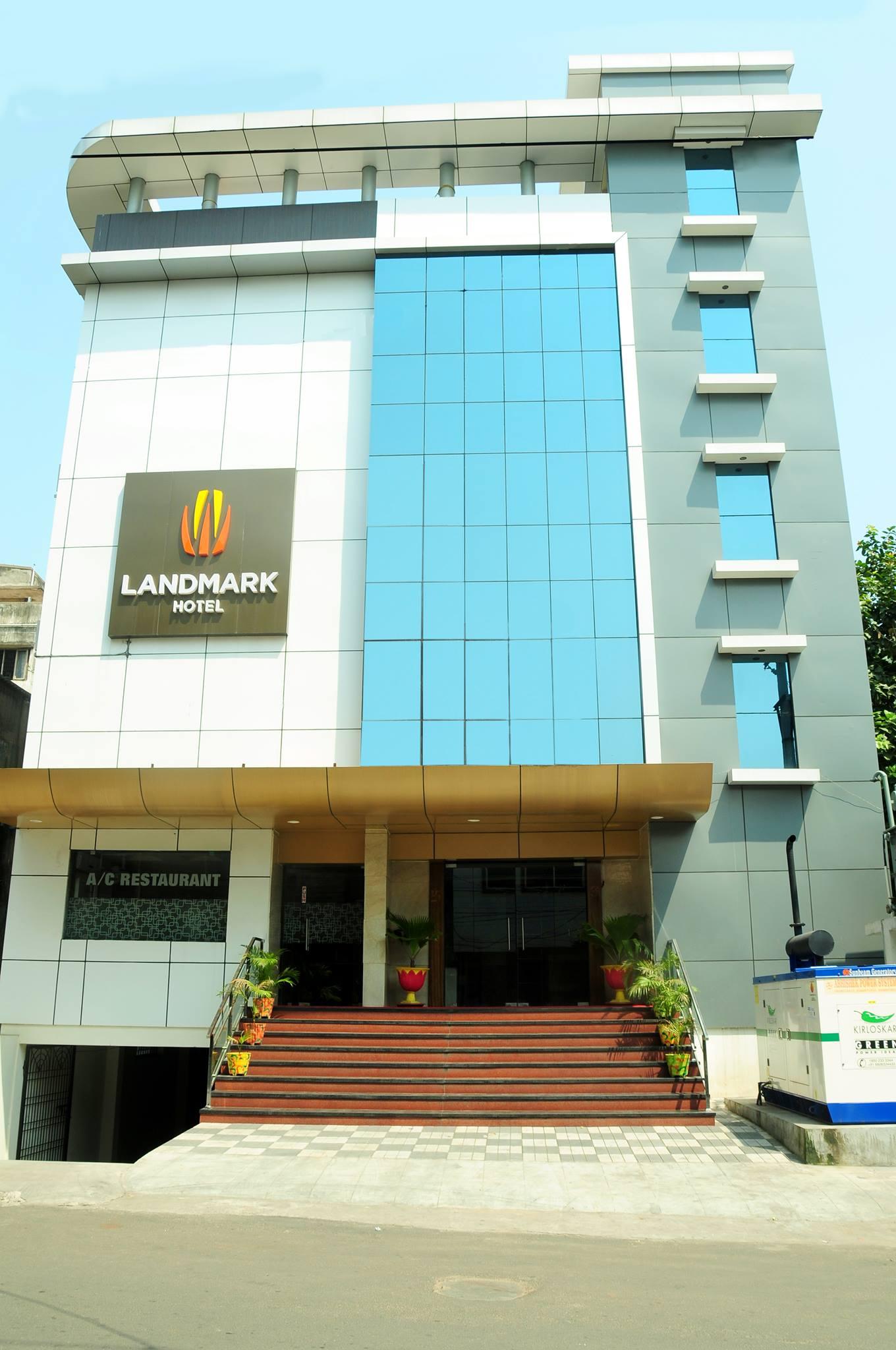 Large Photograph Of Landmark Hotel Visakhapatnam Located In